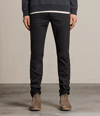 Men's Crow Iggy Jeans (Jet Black) -