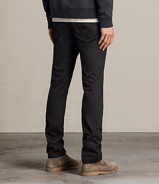 Men's Crow Iggy Jeans (Jet Black) - product_image_alt_text_3