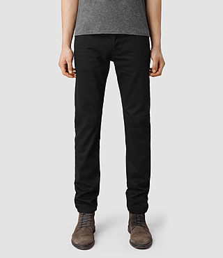 Mens Crow Iggy Jeans (Black)