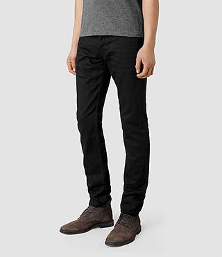 Mens Crow Iggy Jeans (Black) - product_image_alt_text_2