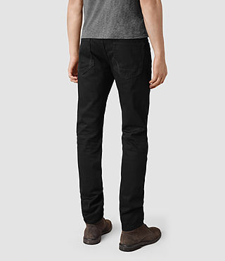 Mens Crow Iggy Jeans (Black) - product_image_alt_text_3