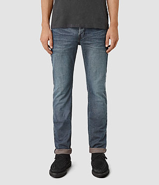 Hommes Dunan Iggy Jeans (Indigo Blue)
