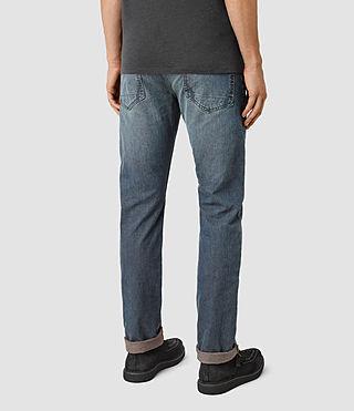 Mens Dunan Iggy Jeans (Indigo Blue) - product_image_alt_text_2