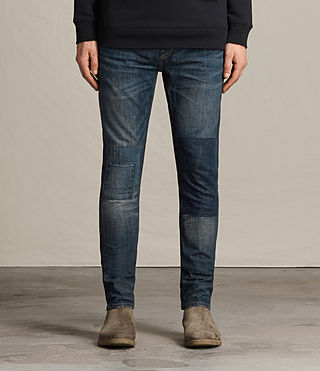 Mens Travail Pistol Jeans (Indigo Blue)