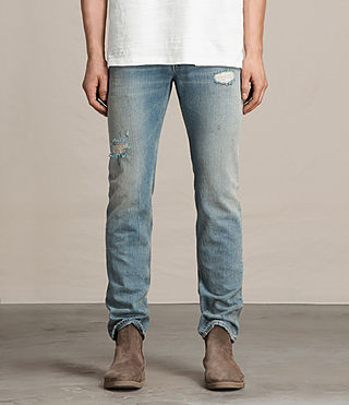 Mens Dakota Iggy Jeans (Indigo Blue)