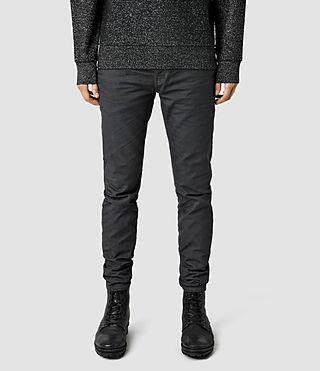 Mens Sodium Pistol Jeans (Grey/Black)