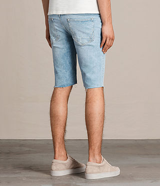 Men's Donahue Switch Denim Shorts (Indigo Blue) - product_image_alt_text_4