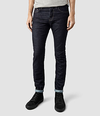 Mens Clift Cigarette Jeans (Indigo)