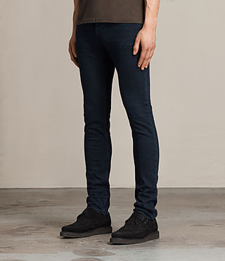 Mens Niigaki Cigarette Jeans (Indigo Blue) - product_image_alt_text_3