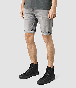 Mens Barham Switch Shorts (Grey) - product_image_alt_text_2