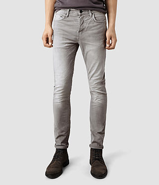 Mens Asahi Razor Jeans (Light Grey)