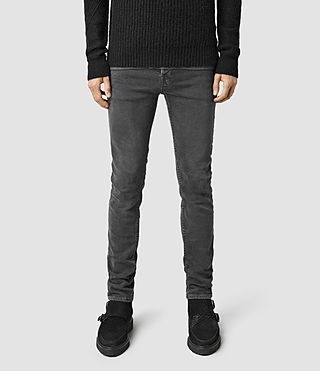 Mens Marmaris Cigarette Jeans (Grey)