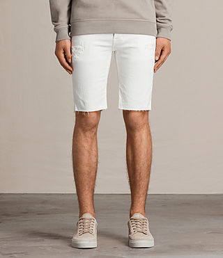 Hombre Shorts Wallen Switch (White) - product_image_alt_text_1
