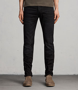 Men's Huran Iggy Jeans (Black)