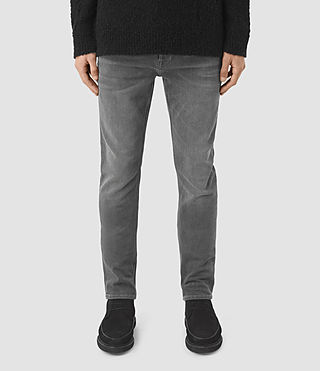 Men's Barham Iggy Jeans (Dark Grey)