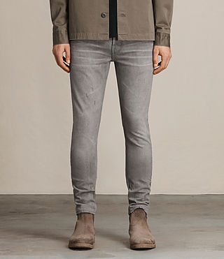 Men's Goree Cigarette Jeans (Grey)