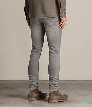 Herren Goree Cigarette Jeans (Grey) - product_image_alt_text_3