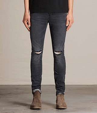 Men's Bannock Cigarette Jeans (Black) - product_image_alt_text_1
