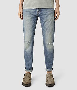 Men's Cayton Taper Jeans (LIGHT INDIGO BLUE)
