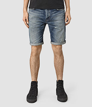 Hombres Horton Switch Short (Indigo Blue) -