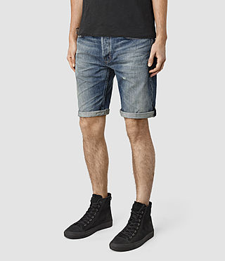 Hommes Horton Switch Short (Indigo Blue) - product_image_alt_text_2