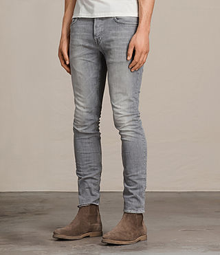 Men's Greaves Cigarette Jeans (Grey) - Image 3