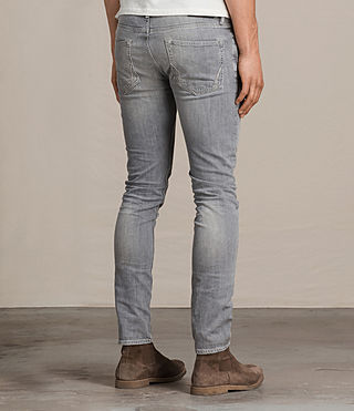 Men's Greaves Cigarette Jeans (Grey) - Image 4