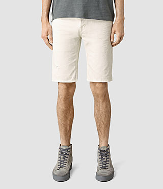 Men's Sodium Switch Jean Shorts (Vintage White)