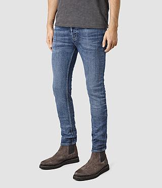 Hommes Adkins Cigarette Jeans (MID INDIGO BLUE) - product_image_alt_text_2
