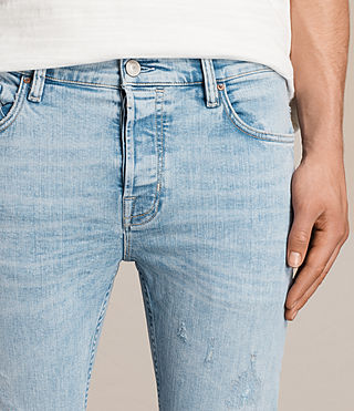 Men's Donavan Cigarette Jeans (LIGHT INDIGO BLUE) - Image 2
