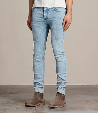 Men's Donavan Cigarette Jeans (LIGHT INDIGO BLUE) - Image 3