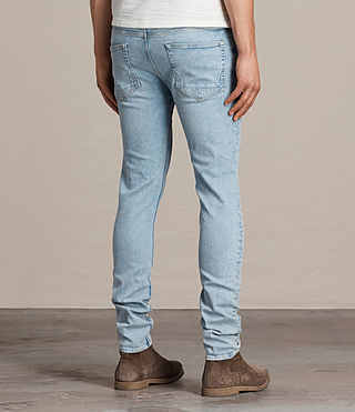 Men's Donavan Cigarette Jeans (LIGHT INDIGO BLUE) - Image 4
