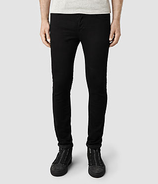 Men's Crow Razor Jeans (Jet Black)