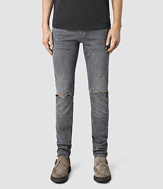 Men's Isodon Cigarette Jeans (Grey)