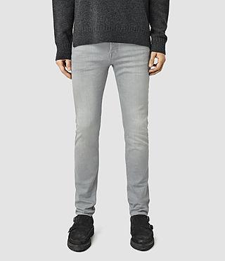 Men's Carini Cigarette Jeans (Grey)
