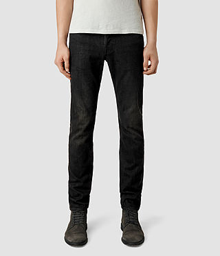 Men's Print Iggy Jeans (Black)