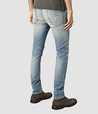 Herren Elswith Cigarette Jeans (LIGHT INDIGO BLUE) - product_image_alt_text_3