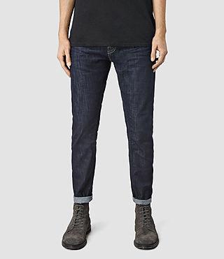 Men's Vela Taper Jeans (Indigo Blue)
