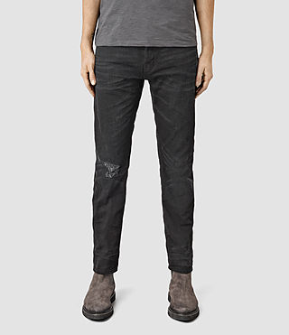 Men's Kaneko Taper Jeans (Black)