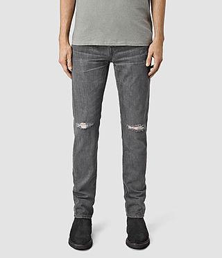 Men's Spikey Iggy Jeans (Black)
