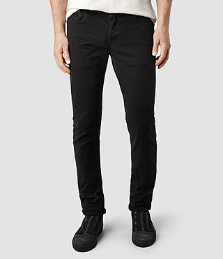 Men's Sodium Cigarette Jeans (Black)
