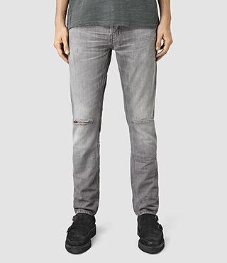 Mens Vapour Pistol Jeans (Grey)