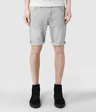 Men's Shadow Switch Shorts (Light Grey)