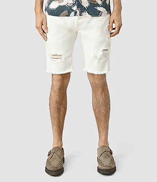 Men's Rotary Switch Short (White)
