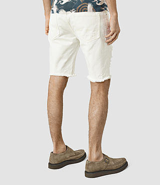 Hombres Rotary Switch Short (White) - product_image_alt_text_3