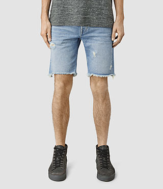 Men's Fret Switch Short (MID INDIGO BLUE)