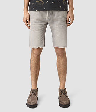 Mens Band Switch Shorts (Grey)