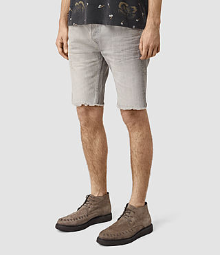 Hombre Band Switch Shorts (Grey) - product_image_alt_text_2