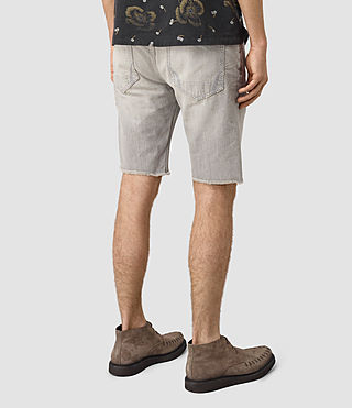 Hombre Band Switch Shorts (Grey) - product_image_alt_text_3