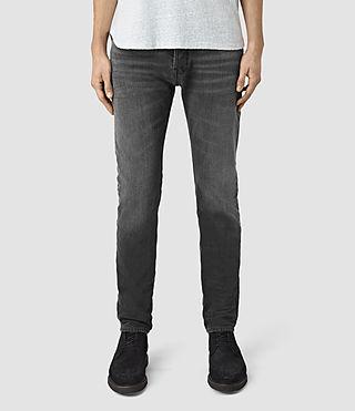 Mens Misfire Pistol Jeans (Black)